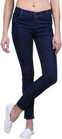 Mynte Skinny Fit Dark Blue Ladies Jeans