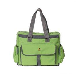 Vouch Bria Travel Duffle Green Multipocket Mother bag / baby diaper bag / shoulder bag