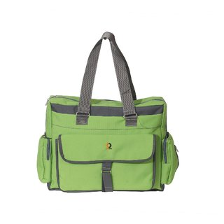Vouch Bria Travel Duffle Green Multipocket Mother bag / baby diaper bag / shoulder bag