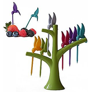 Right Traders Plastic Fruit Fork Set