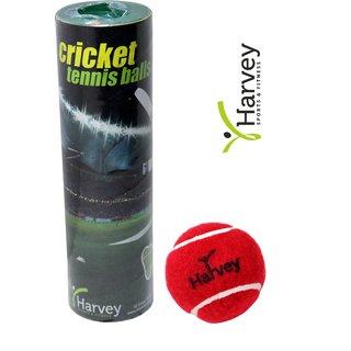 Premium Heavy Weight Cricket Tennis Balls Pack of 6