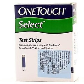 one touch 50 test strips pack