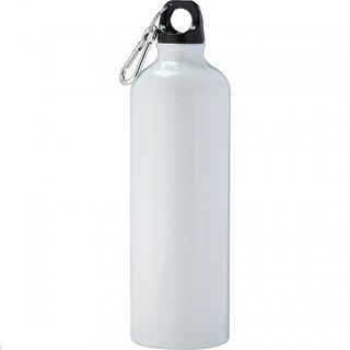 White ALUMINIUM Sport Bottle 750 ml