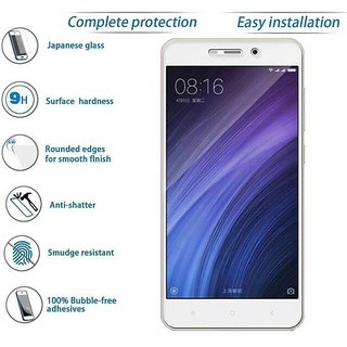 Redmi 4A Tempered Glass Best Quality Curved Glass