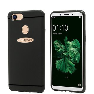 the latest ec7be 80861 BT Oppo F5 (black) Ultra Protection Rubberised Soft Back Case Cover