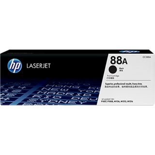 HP Toner  88A CC388A Toner Cartridge(Black)