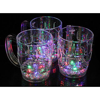 Liquid Activated Blinking Glass (Set Of 2 Pieces)