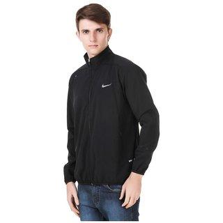 Buy Nike Black Polyester Terry Jacket Online Get 0 Off