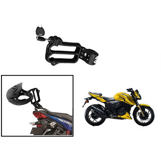 Autonity Bike Twin Helmet Lock for TVS Apache RTR 160