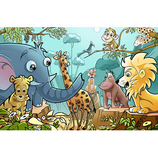 Harmony Arts Online Presents Children Room Painting For Home & Office Decor. Model no : cr101. Size :- 16 x 10 (in.)