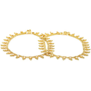 Rubans Pearl  Anklet