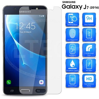 Samsung J7 (2016) Tempered Glass Best Quality Curved Glass