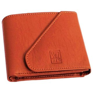 wallets for men in tan color 3 cards packets(wenzest)
