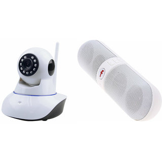 Zemini Wifi CCTV Camera and Facebook Bluetooth Speaker for REDMI NOTE 4G(Wifi CCTV Camera with night vision |Facebook Bluetooth Speaker)
