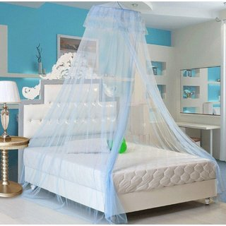 Baby Oodles Double Nylon Blue Kids & Baby Mosquito Net
