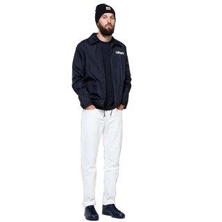 Ansh Fashion Wear Men's White Strechable Denim Jeans