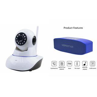 Clairbell Wifi CCTV Camera and Hopestar H11 Bluetooth Speaker for MOTOROLA moto g forte(Wifi CCTV Camera with night vision |Hopestar H11 Bluetooth Speaker)