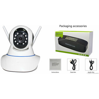 Clairbell Wifi CCTV Camera and Hopestar H11 Bluetooth Speaker for XOLO BLACK.(Wifi CCTV Camera with night vision |Hopestar H11 Bluetooth Speaker)