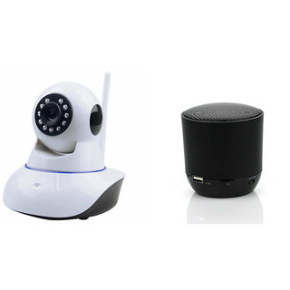 Mirza Wifi CCTV Camera and Hopestar H9 Bluetooth Speaker for SONY xperia m2(Wifi CCTV Camera with night vision |Hopestar H9 Bluetooth Speaker)