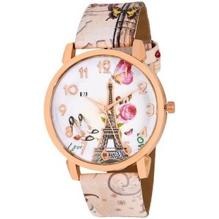 PARIS FASHION FANCY white BELT FRESH FASHION Analog Watch - For Women
