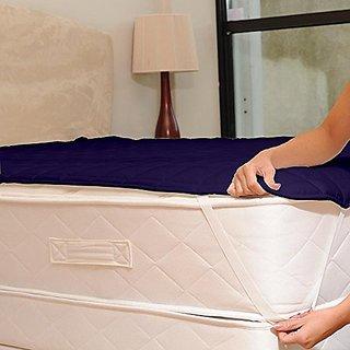 AVI Water Resistant & Dustproof Mattress Protector Double Bed Size 72