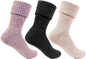 Ladies woolen socks - - Assorted