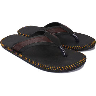 Butchi Men Brown Slippers