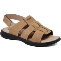 Red Chief Mens Brown Slip On Sandals - 123574531