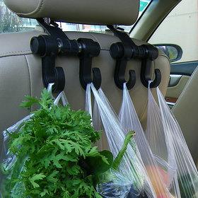 Universal Car Back Seat Headrest Hanger Holder Hooks For Bag Purse Cloth Grocery
