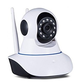 Wireless Full HD Dual Antenna IP Camera Pan Tilt moving by mobile app