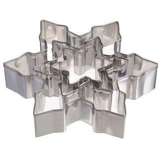 Futaba Snowflake Cutter Cookies - 3 Pcs Set