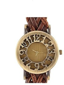 Fast Selling Brown dori watch for girls.