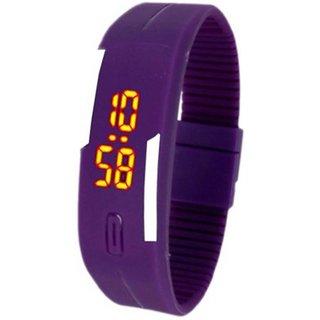 skmei purple led watch for men women