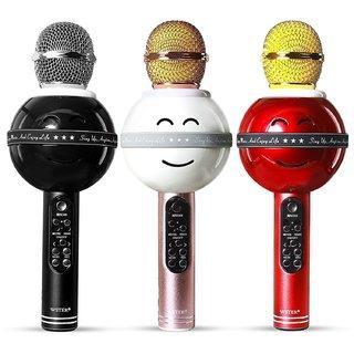 Others CP Bigbasket Bluetooth Karaoke Microphone for Singing  Wireless Professional Handheld Portable Speaker Pack of 1