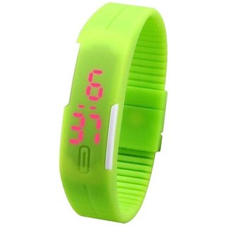 skmei green led watch for men women