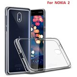 SAVINGUP NOKIA 2 Soft Silicon High Quality Ultra-thin Transparent Back Cover.