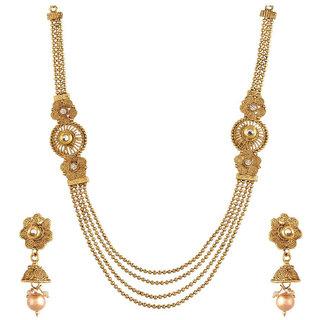 Bhagya Lakshmi Alloy Jewel Set For Women