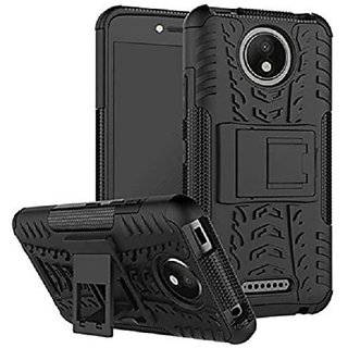 Motorola Moto C Plus kickstand Back case Cover