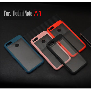 the best attitude 3ef93 74bb5 Redmi A1 Original NEW AUTO FOCUS Crystal Clear Ultra-thin TPU Acrylic  Transparent Protective Back Cover.