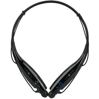 HBS-730 Wireless Bluetooth Headset With Mic (Black)