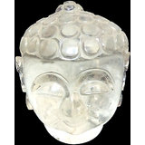 Vedka Indian Buddha Head Statue Crystal Buddha Head