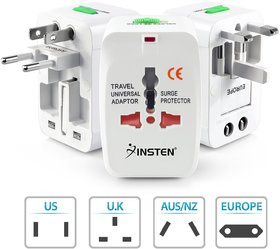 High Quality All In One International  Universal Travel Power Adapter For  (US,AUS,NZ,Europe,UK) (SP)