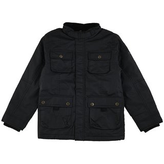 SHISHU 4 POCKET BLACK JACKETS
