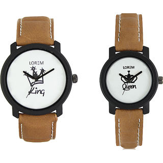 Viceroy Enterprise Exclusive COMBO OF KING AND QUEEN Analog Watch For COUPLE