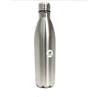 Graminheet Stainless Steel Hot  Cold Bottle 500ml with Mat Finish