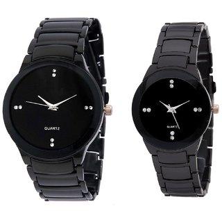 branded  IIK Collection Model Designer Couple Analog Watch - For Couple, Men, Women, Boys, Girls