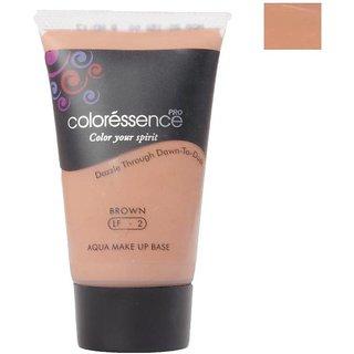 Coloressence Aqua Makeup Base Foundation  (Brown, 35 ml)