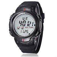 Digital Dial Sports Watch With Alarm / Stop Watch For M