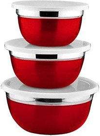 STARC German Bowl 14/15/16cm (set of 3)RED