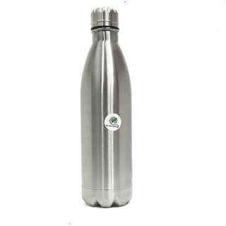 Graminheet Stainless Steel Hot  Cold Bottle 750ml with Mat Finish
